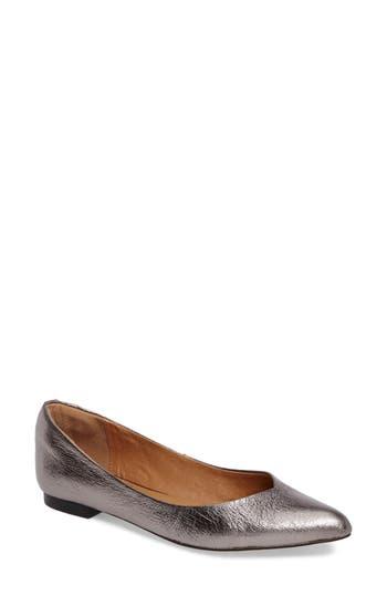 Corso Como Julia Pointy Toe Flat- Metallic