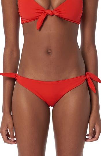 Mara Hoffman Sita Bikini Bottoms, Red