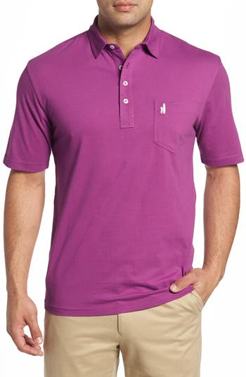 Men's Johnnie-O The Original Classic Fit Polo, Size Small - Purple