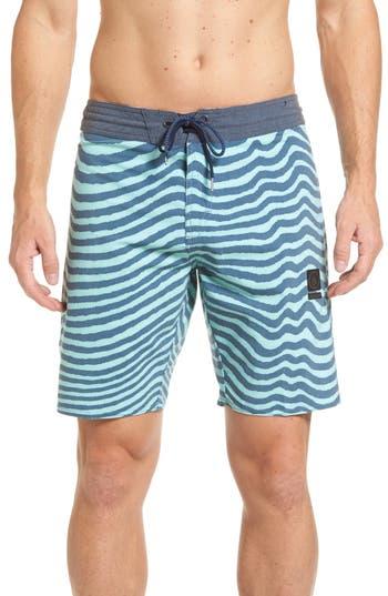 Volcom Mag Vibes Slinger Board Shorts, Blue