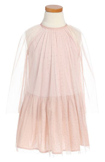 Girl's Stella Mccartney Kids Misty Sparkle Tulle Dress