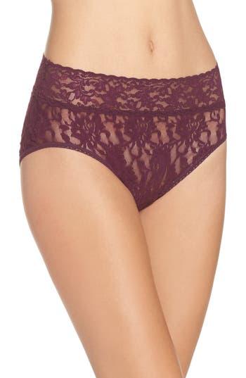 Women's Hanky Panky French Bikini, Size Large - Purple