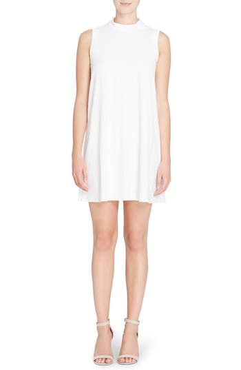 Catherine Catherine Malandrino Lonni Geo Textured Dress, White