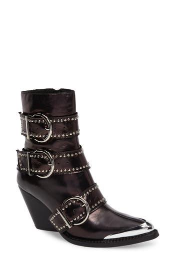Jeffrrey Campbell Marvolo Studded Bootie- Black