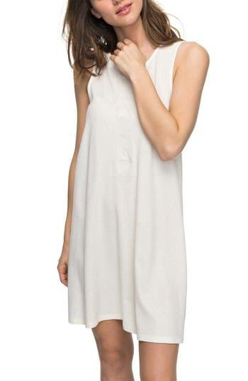 Roxy Stay Simple Cotton Sundress, White