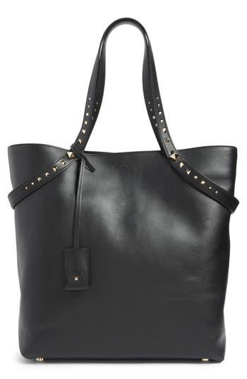 Valentino Garavani Lovestud Leather Tote -