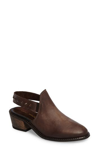 Very Volatile Adamo Studded Slingback Mule, Brown