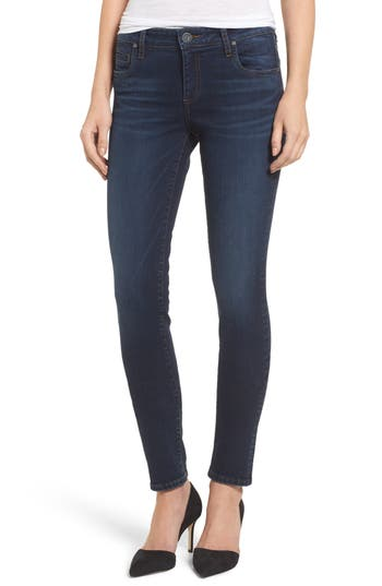 Kut From The Kloth Diana Curvy Fit Skinny Jeans, Blue