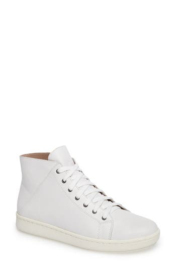 Eileen Fisher Game High Top Sneaker, White