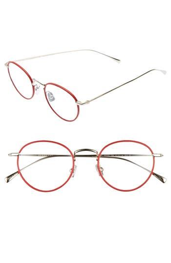 Derek Lam 47Mm Optical Glasses - Red
