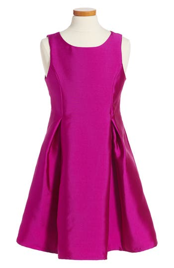 Girl's Soprano Fit & Flare Dress, Size S (8-10) - Purple