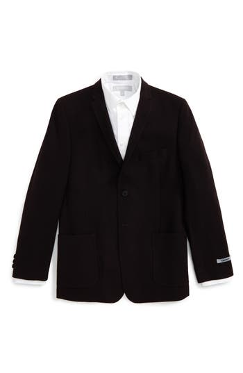 Boy's Dkny Knit Sport Coat