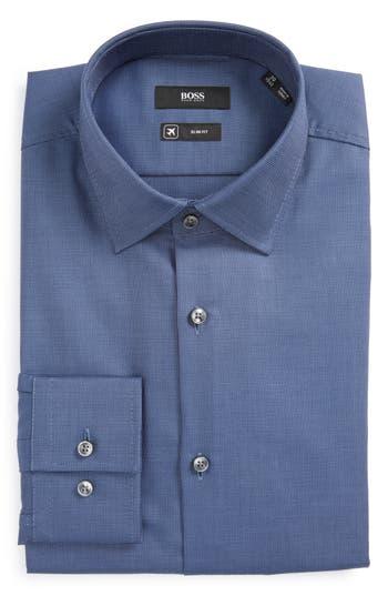 Men's Boss Jenno Slim Fit Solid Dress Shirt