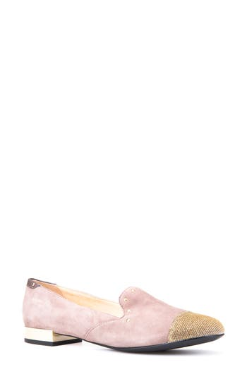 Geox Wistrey Cap Toe Loafer, Pink