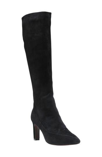 Cole Haan Arlean Pointy Toe Tall Boot, Black