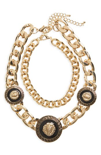 Women's Bp. Lion Chunky Statement Necklace