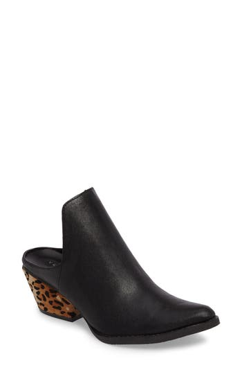 Very Volatile Chicas Genuine Calf Hair & Leather Mule