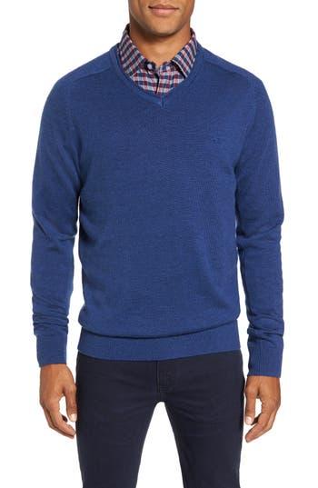 Rodd & Gunn Burfield Wool Sweater, Blue