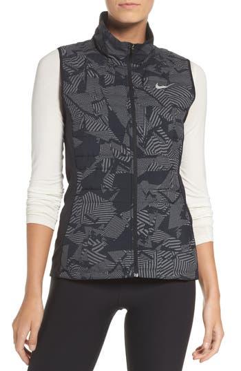 Nike Essential Flash Running Vest, Black
