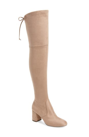 Charles By Charles David Owen Over The Knee Boot, Beige