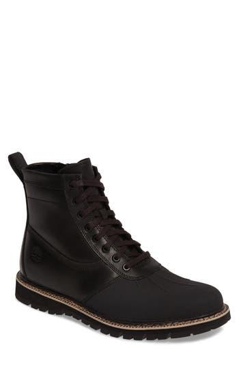 Men's Timberland 'Britton Hill' Moc Toe Boot, Size 7 M - Black
