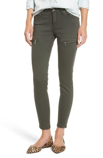 Mavi Jeans Karlina Military Twill Skinny Pants, Green