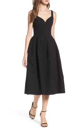 Jill Jill Stuart Crepe Midi Dress