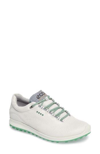 Ecco Biom 2 Hybrid Water-Repellent Golf Shoe, White