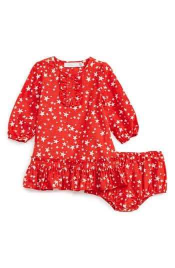 Infant Girl's Stella Mccartney Astrid Dress, Size 3M - Red