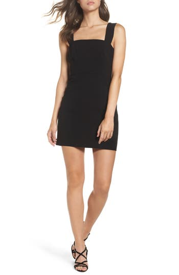 French Connection Whisper Ruth Sheath Dress, Black