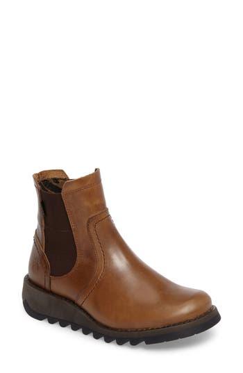 Fly London Scon Waterproof Gore-Tex Chelsea Boot - Brown