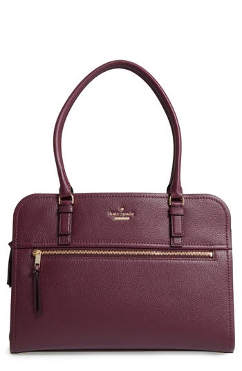 kate spade new york jackson street - kiernan leather laptop tote