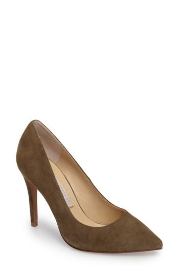 Kristin Cavallari Gisele Pointy Toe Pump- Green