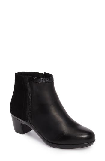 Aravon Lexee Wateproof Bootie, Black