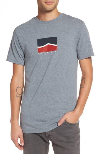 Vans Short Stack T-Shirt, Grey