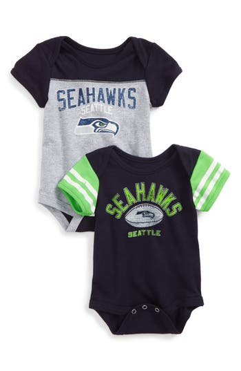 Infant Nfl Logo Seattle Seahawks 2Pack Bodysuits