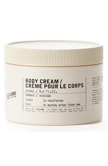 Le Labo Body Cream Hinoki
