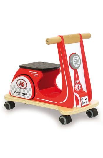 Infant Indigo Jamm Scooter PushPull Toy