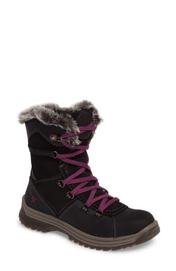 Santana Canada Majesta 2 Faux Fur Lined Waterproof Boot, Black