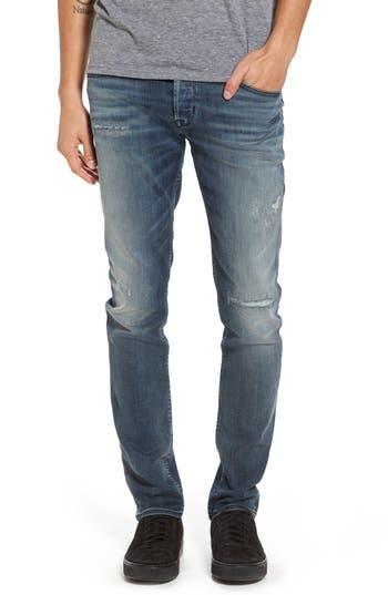 Hudson Jeans Axl Skinny Fit Jeans, Blue