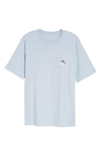 Tommy Bahama Casting Call Standard Fit T-Shirt, Blue