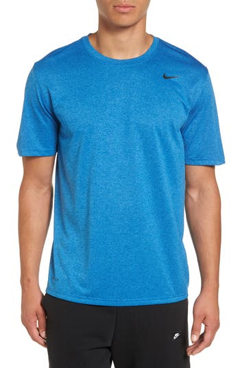 Big & Tall Nike Legend 2.0 Dri-Fit Graphic T-Shirt, Size ST - Blue