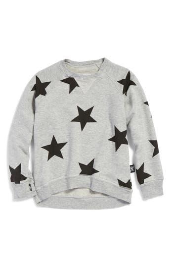 Girl's Nununu Star Print Sweatshirt
