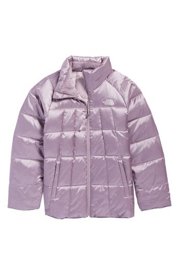 Girls The North Face Aconcagua Down Jacket Size M (1012)  Grey