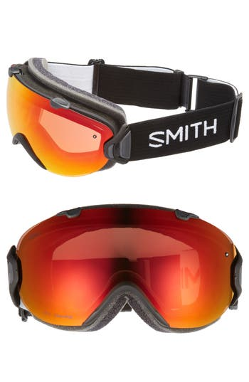 Women's Smith I/os Chromapop Snow Goggles - Black/ Mirror