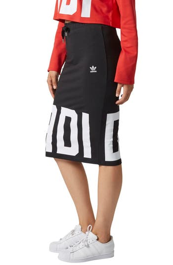 Adidas Bold Ages Track Skirt, Black