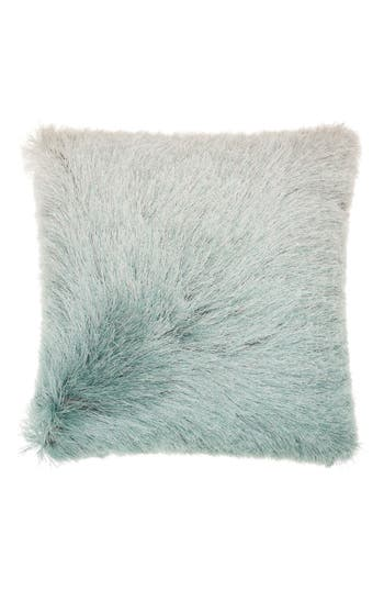Mina Victory Shag Ombre Pillow, Size One Size - Blue