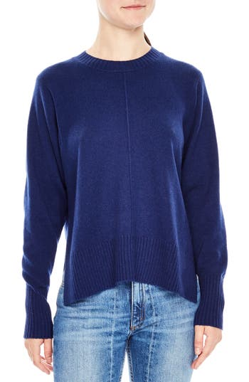 Sandro Gilda Wool & Cashmere Sweater, Blue