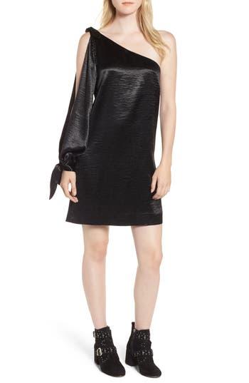Rebecca Minkoff Nash One-Shoulder Shift Dress, Black