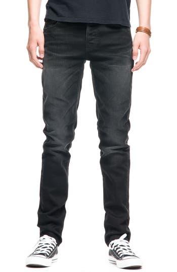 Nudie Jeans Grim Tim Slim Fit Jeans, Black